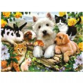 Happy Animals 300 Piece Jigsaw Puzzle