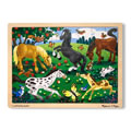 Frolicking Horses 48 Piece Jigsaw Puzzle