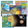 Earth Science Charts (Set of 5)