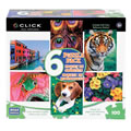 6 in 1 Multipack Puzzles (100 pieces each)