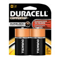 Duracell® Copertop Batteries D (2 pack)