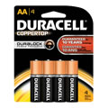 Duracell® Coppertop Battery AA 4 pack