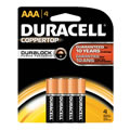 DURACELL COPPERTOP Battery AAA (4 pack)
