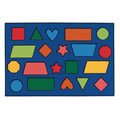 Color Shapes Rug