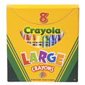 Large 8-Pack Crayola® Crayons (Single Box)