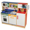 Colorful All In One Kitchen