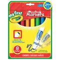 Crayola® My First Round Tip Markers (1 Box / 8 Count)
