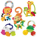Lots of Smiles Rattle Set (Set of 5)
