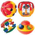 Shake, Rattle & Roll Activity Set (Set of 4)