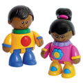 TOLO® First Friends African American Girl & Boy