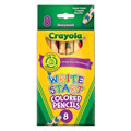 Crayola® 8-Pack Write Start Colored Pencils (Single Box)