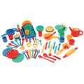 Deluxe Kitchen Set (71 pcs.) by Toysmith