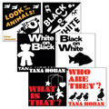 Black and White Book Set (Set of 6)