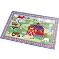 "Country Farm Rug - 39"" x 58"""