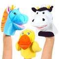 Farm Friend Puppets (Set of 3)