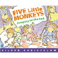 Five Little Monkeys On The Bed (Board Book)