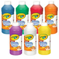 Crayola® Washable Finger Paint 16 oz Plastic Jar