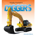 Mighty Machines Diggers - Paperback