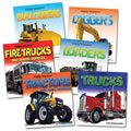 Mighty Machines Book Set (Set of 6)