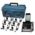 Digital Audio Hub Listening Center with Case