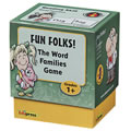 Fun Folks! The Word Families Game