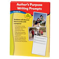 Author's Purpose Writing Prompts, Grade 4+