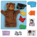 Brown Bear Puppet and Props