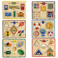 Shape Puzzles (Set Of 6)
