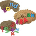 Alphabet And Number Sand Molds (Set Of 3)