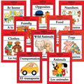 Bilingual Concepts Books (Set of 10)