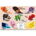 Bilingual Colors Floor Puzzle