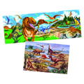 Dinosaur Floor Puzzle Set (Set Of 2)