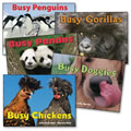 Busy Animals Board Book Set (Set of 5)
