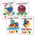 Early Concepts Board Book Set (Set of 4)