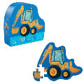 Digger Mini Shaped Box Floor Puzzle