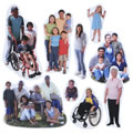 Diversity People Magnetic Set (Set of 21)