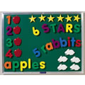 Ideal for magnet play and early language practice. Use in conjuction with the magnetic chalkboard.