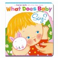 What Does Baby Say? - Board Book