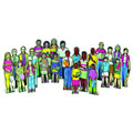Multi-Cultural Family (Set of 24)