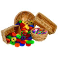 Wooden Baskets (Set of 4)