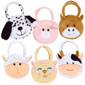 Animal Purses (Set of 6)