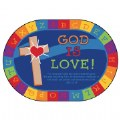 God Is Love Learning Carpet