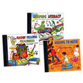Moving with Literacy and Math CD Collection (Set of 3)