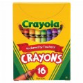 Crayola® 16-Pack Crayons - Standard (12 boxes)