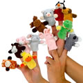 Playful Finger Puppets
