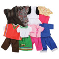 "16""-18"" Multicultural Doll Clothes"