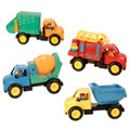 We Do The Work Truck Set (Set of 4)