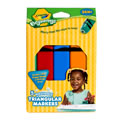 Crayola® 5-Pack Washable Triangular Markers (Single Box)