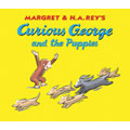 Curious George and the Puppies Lap Board Book