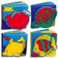 Ocean Animals Vinyl Books (Set of 4)
